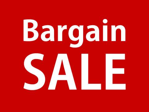 Bargain Sale!