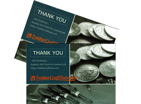 LC Gift Certificate Card