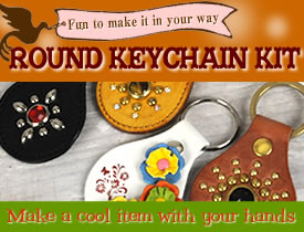 Round Keychain Kit
