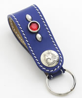 Leather Key Fob Kit-Round Head