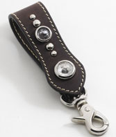 Leather Key Fob Kit-Snake Head