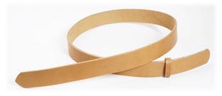 Hermann Oak UK Bridle Leather Bend Belts