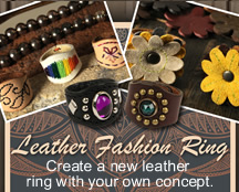 Leather Fashion Ring Kit