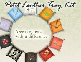 Petit Leather Tray Kit