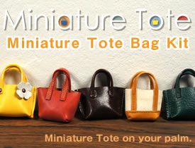 Miniature Tote Bag Kit