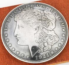 Old Morgan Dollar 1921 Condition: XF/AU