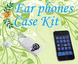 Ear Phones Case Kit