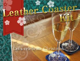 Leather Coaster Kit