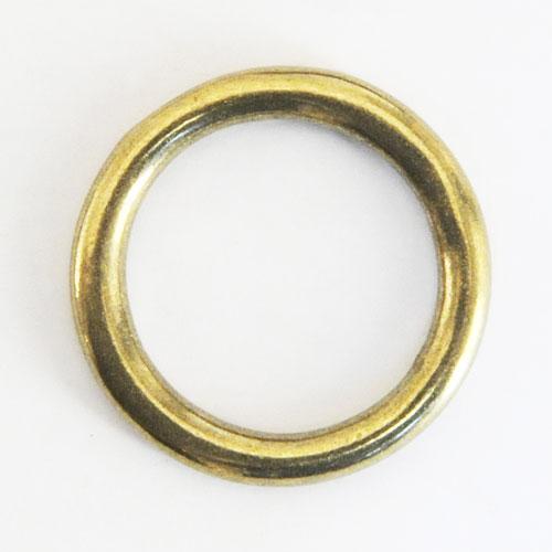 Cast Round Ring Solid Brass