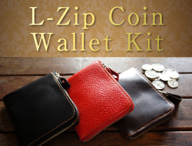 L-Zip Coin Wallet Kit