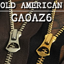 YKK Zipper <OLD AMERICAN> GAOAZ6