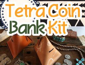 Tetra Coin Bank Kit