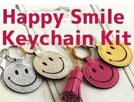 Happy Smiley Keychain Kit