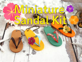 Miniature Sandal Kit