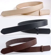 LC Tooling Leather Standard Belts