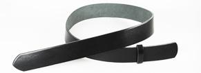 Leather Glazed Tochigi Belts Black