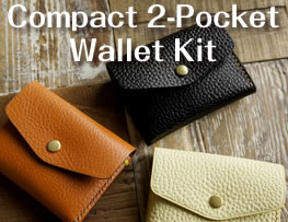 Compact 2-Pocket Wallet Kit