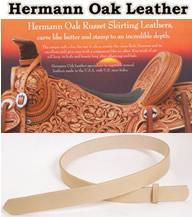 Hermann Oak Tooling Leather Belts