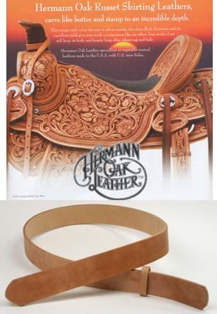 Hermann Oak Harness Leather Belts