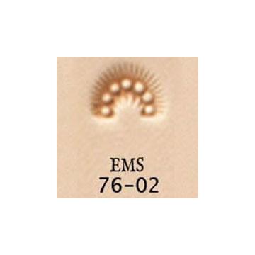 <EMS Stamp>Border Stamp 76-02