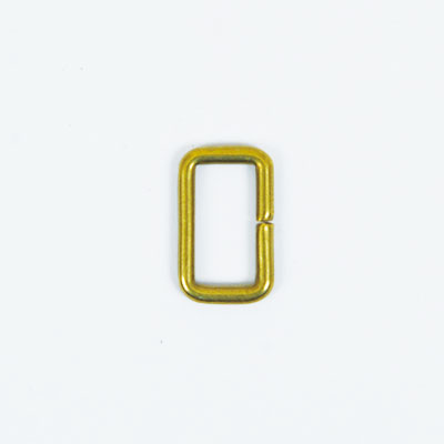 Strap Keeper Loops Solid Brass - 12 mm