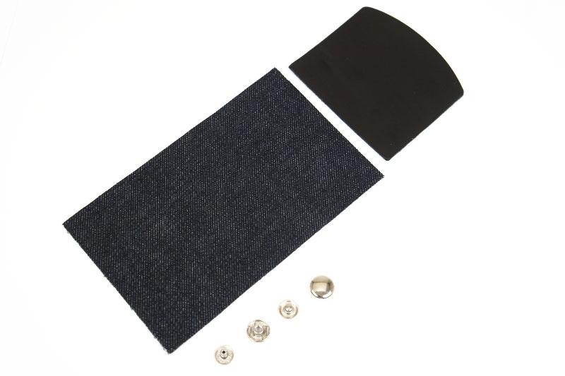 Okayama Denim x Leather <Coin Wallet Kit> - Tochigi Aniline Leather Classic