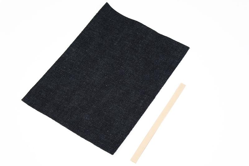 Okayama Denim &Leather - Pocket Tissue Case Kit <LC Tooling Leather Standard>