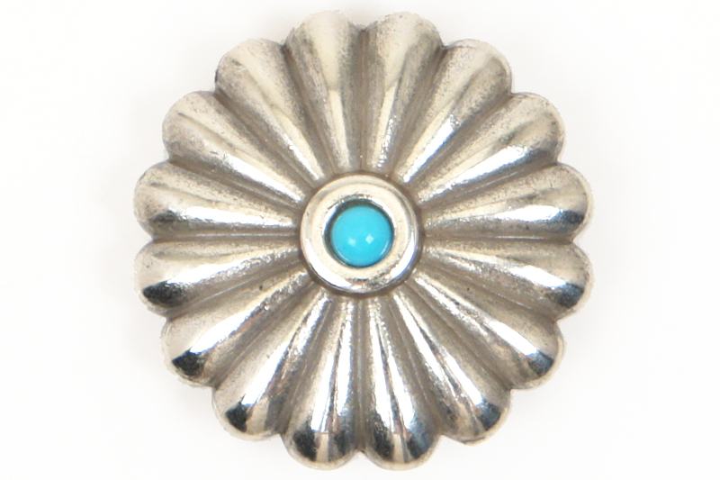 Metal Concho Round <32 mm>