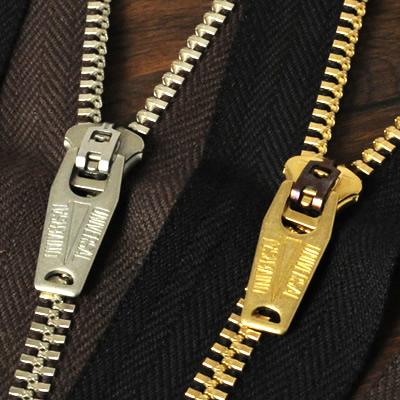 YKK Zipper <OLD AMERICAN>#5 50 cm Nickel (GSN64OAZ10)