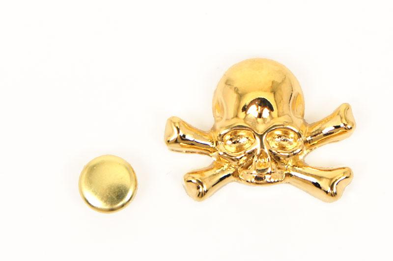 Decorative Rivet Skull