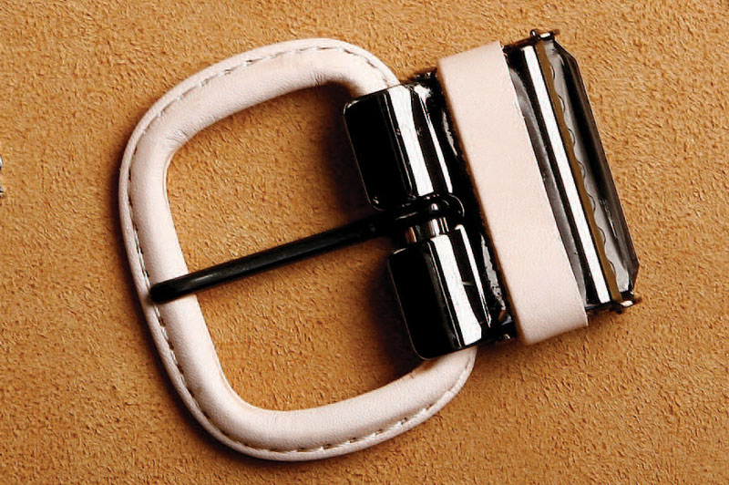 Leather Covered Buckle 35 mm