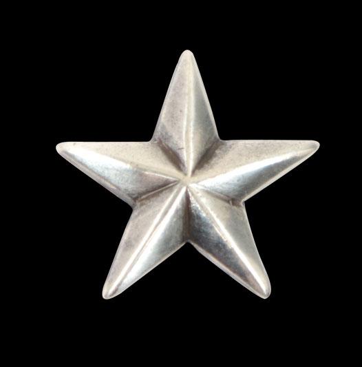 Star Concho - Nickel <19 mm>