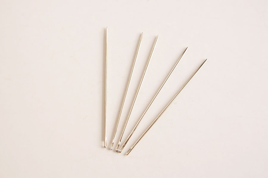 Round Point Sewing Needle - Long (5 pcs)