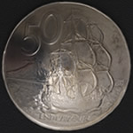 Endeavour New Zealand 50 Cent Nickel