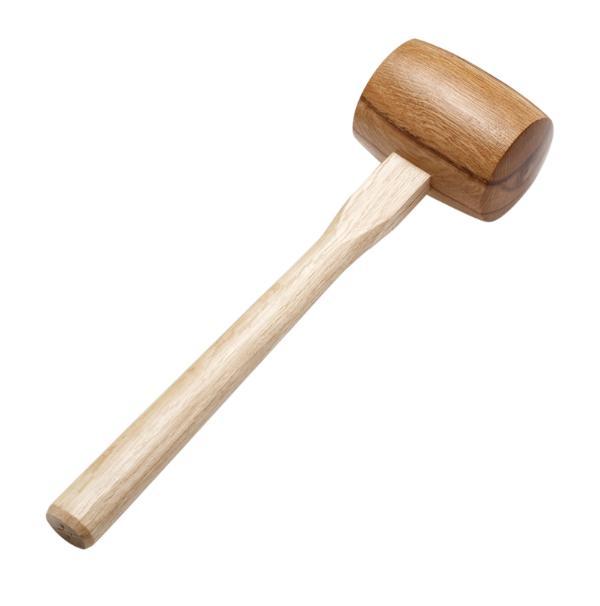 Round Head Wooden Mallet (L)