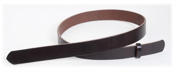 Hermann Oak UK Bridle Leather Belt Blanks H110cm x W4.5cm