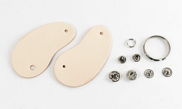 Beans Key Case Kit -  LC Tooling Leather Standard