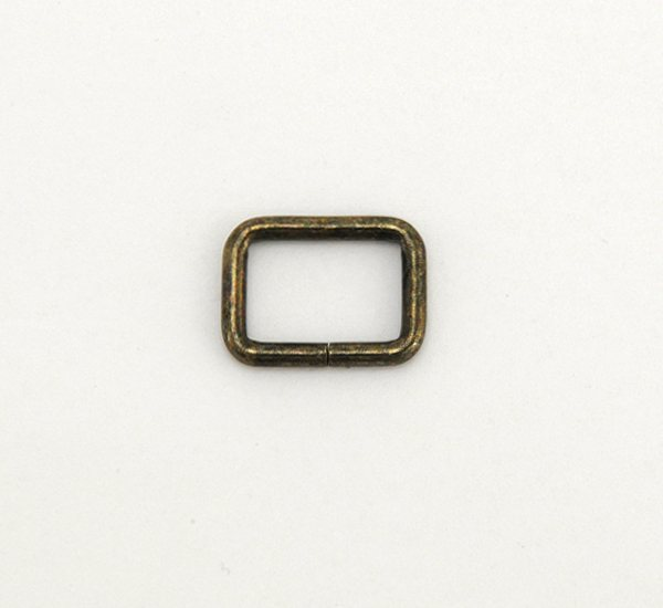 Strap Keeper Loops - 12 mm - Antique