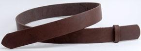 LC Tooling Leather Standard Belt Blanks H130cm x W3.0cm