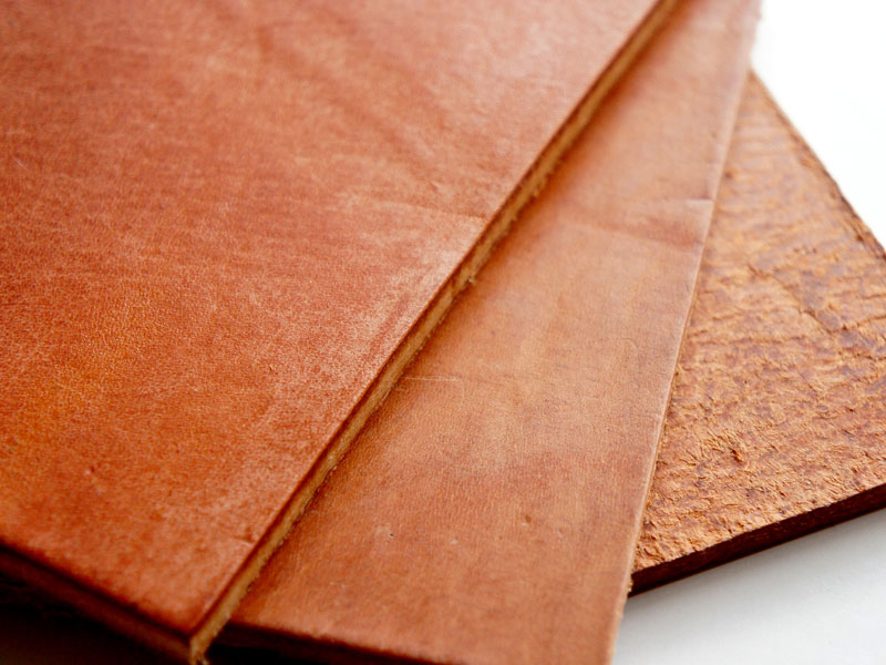 Hermann Oak Harness Leather -Postcard size-