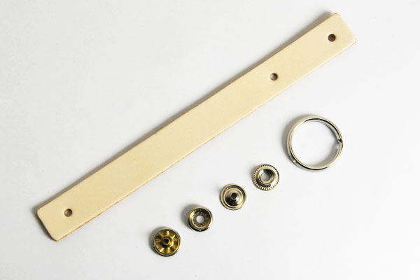 Loop Key Strap Kit - LC Tooling Leather Standard