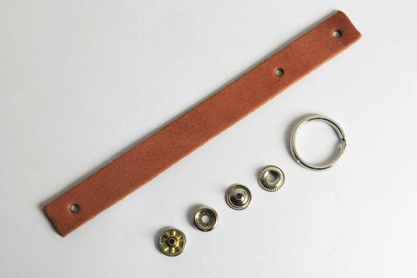 Loop Key Strap Kit - Hermann Oak Harness Leather