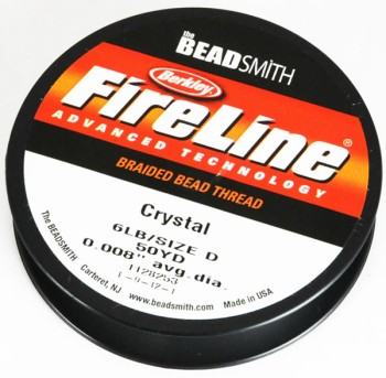 FireLine 6LB50YD Crystal / Thin (0.2 mm)