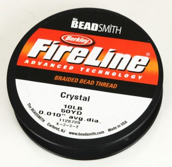 FireLine 10LB50YD Crystal / Thick (0.25 mm)