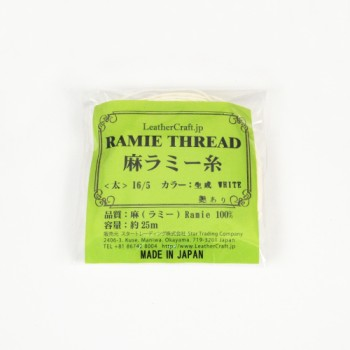 LC Ramie Thread Thick/Gloss (Small 25 m)