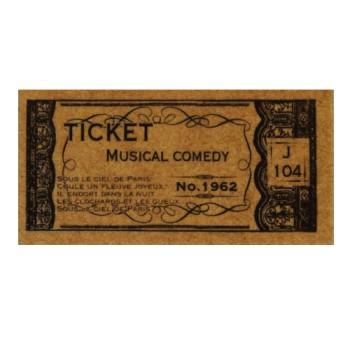 Flea Market Stamp - Concert Ticket