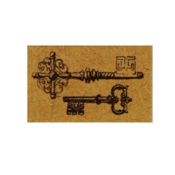 Flea Market Stamp - Antique Key