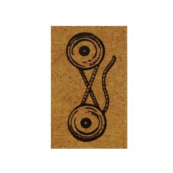 Flea Market Stamp - Envelope Tie