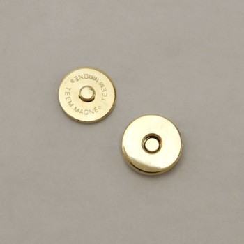 Round Magnetic Button 14 mm (2 Sets)
