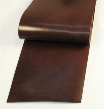 Leather cut in 30cm width, LC Leather Glazed Standard <Dark Brown>